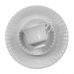 Chodzież Serwis do kawy Iwona Biała (C000) dla 12 osób, 39 el.