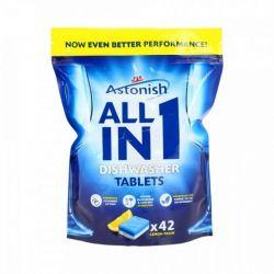 Astonish All in 1 Tabletki do zmywark 5 in 1, 42 szt.