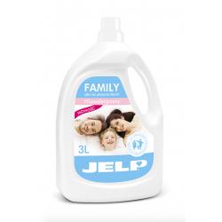 Jell Family Zmiękczający płyn do płukania 3l