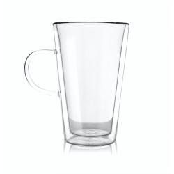 Vialli Design Szklanka do latte z podwójną ścianką Amo 320 ml