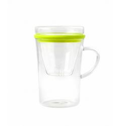 Vialli Design Szklanka z zaparzaczem Amo 300 ml