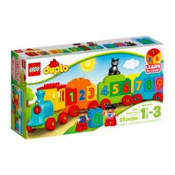 LEGO® DUPLO: Pociąg z cyferkami, 10847, el. 23, 1,5-3 lat