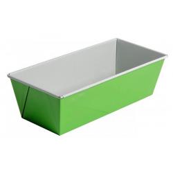 SNB Blacha do pieczenia fakturowana 25 x 11 cm, zielono-szara