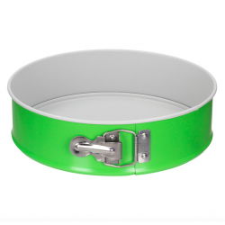SNB Tortownica fakturowana Ø 24 cm, zielono-szara
