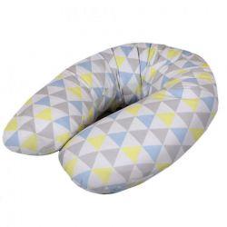 Ceba Cebuszka Multi Jersey Trójkąty niebiesko-żółte