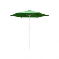 Happy Green Parasol z kołowrotkiem LIGHT GREEN