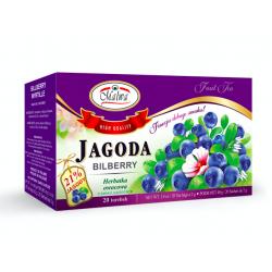 Malwa Herbatka Jagoda, 20 torebek w kopertach