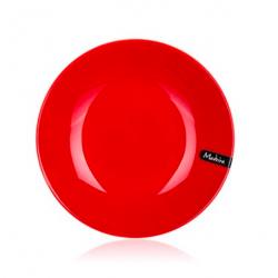 Banquet Talerz głęboki Madeira 21 cm, czerwony