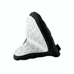 Vialli Design Rękawica kuchenna Livio biało-czarna