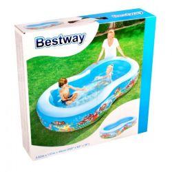 Bestway Basen z rybkami 2,62 m x 1,57 m x 46 cm