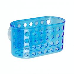 Center Plus Koszyk łazienkowy PCV M, niebieski