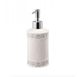 BISK Dozownik mydła CASTELLO biały