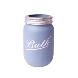 Uniglob Kubek na szczoteczki BATH niebieski