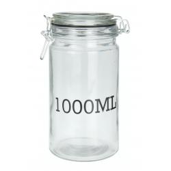 Hermetyczny słoik z pokrywką, 1000 ml