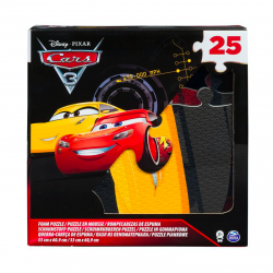 Spin Master Puzzle piankowe Cars Auta, 25 el.