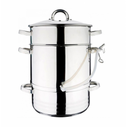 MeyerHoff Sokownik/garnek do gotowania na parze z pokrywką JUICER, 8 l