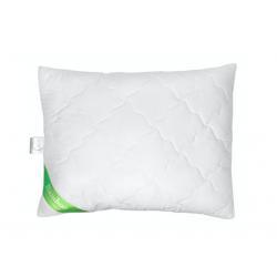 Poldaun Poduszka pikowana Bambo, biały, 70 x 80 cm