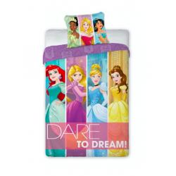 FARO Komplet pościeliDare to dream, Disney, 160 x 200 cm, bawełniana