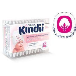 Kindii Bawełniane patyczki dla niemowląt Baby Sensitive, ok. 60 sztuk