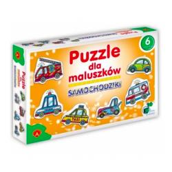 Alexander Puzzle dla maluszków Samochodziki, od 3 lat