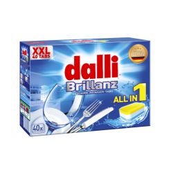 Dalli Brillanz XXL Tabletki do zmywarki 40 szt.