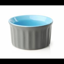 Naczynie ceramiczne GISELE MUFFINKA, szaro-niebieski
