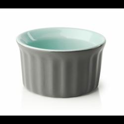 Naczynie ceramiczne GISELE MUFFINKA, szaro-miętowy