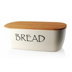 Chlebak z drewnianą pokrywą HTBB5488
