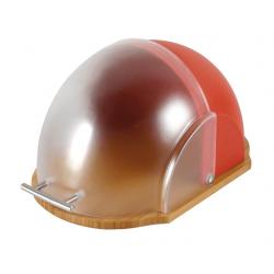 Ambition Chlebak z plastikową pokrywą Vader 39 x 26,5 x 20 cm, czerwony