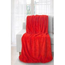 Eurofirany Koc/Narzuta Ricky, 220/240, czerwony