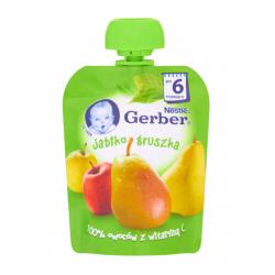 Gerber Deserek Jabłko gruszka 6m+ 90 g