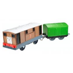 Tomek i Przyjaciele Lokomotywa Tobik z wagonikiem Trackmaster