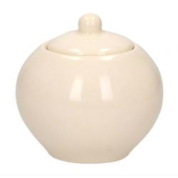Cukiernica ceramiczna Juliet 350 ml, kremowy