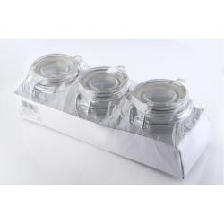 Mondex Komplet 3 słoików HTID1886, 130 ml