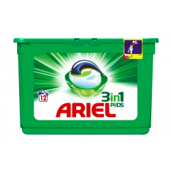 Ariel 3in1 pods Kapsułki do prania, 12 szt.