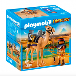 Playmobil® History Egipski wojownik z wielbłądem 5389