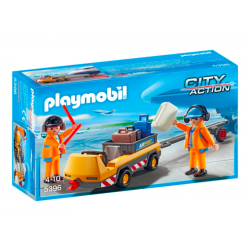 Playmobil® City Action Holownik samolotu z kontrolerem ruchu 5396