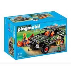 Playmobil® Wild Life Przygoda z samochodem terenowym 5558