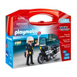 Playmobil® City Action Skrzyneczka Policja 5648