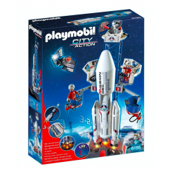 Playmobil® City Action Rakieta kosmiczna ze stacją bazową 6195