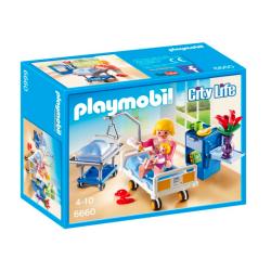Playmobil® City Life Sala chorych z łóżkiem dla niemowlaka 6660