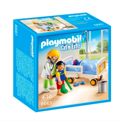Playmobil® City Life Lekarka przy łóżku chorego dziecka 6661