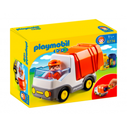 Playmobil® 1.2.3 Śmieciarka 6774