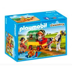 Playmobil® Country Wycieczka bryczką kucyków 6948