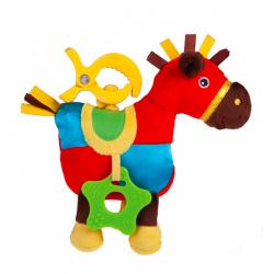 Canpol babies Pluszowa zabawka z klipsem Zamkowa 68/038