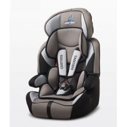 Caretero Fotelik Falcon Dark Grey 9-36