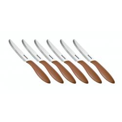 Tescoma Nóż stołowy, PRESTO 12 cm, 6 szt., brązowy
