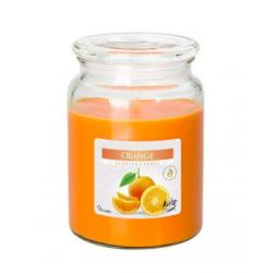 Bispol Świeca zapachowa w szkle Pomarańcza Snd99-63
