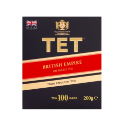 TET Herbata czarna British Empire Breakfast tea 200 g, 100 torebek