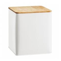 Ambition Puszka z pokrywką Nordic 1,7 l biała
